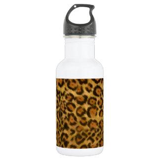 Jaguar Print, Jaguar Fur Pattern, Jaguar Spots 18oz Water Bottle