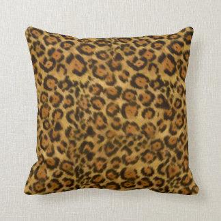Jaguar Print, Jaguar Fur Pattern, Jaguar Spots Pillow