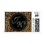 Jaguar Print Monogram Stamp
