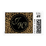 Jaguar Print Monogram Stamp