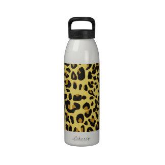Jaguar Print Reusable Water Bottles