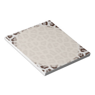 Jaguar Print Scratch Pad