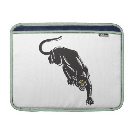 Jaguar Prowling MacBook Sleeves