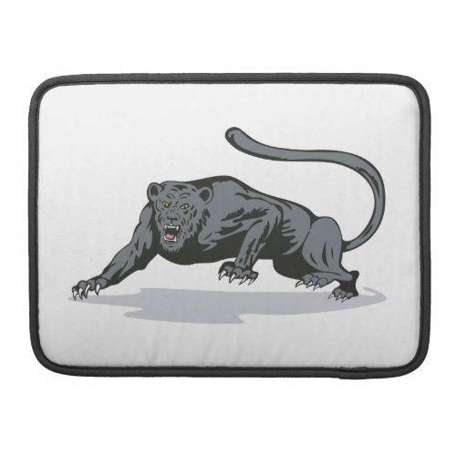 Jaguar Prowling MacBook Pro Sleeves