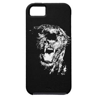 Jaguar que ruge iPhone 5 protectores