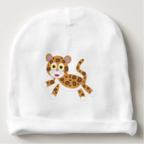 Jaguar- Rainforest Newborn Hat