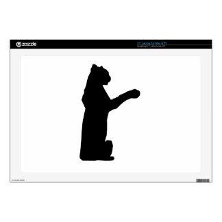 Jaguar Silhouette Laptop Decal