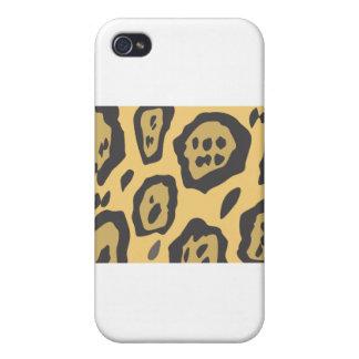 Jaguar Skin Pattern iPhone 4 Cases