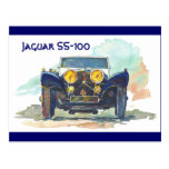 Jaguar SS-100 Postal