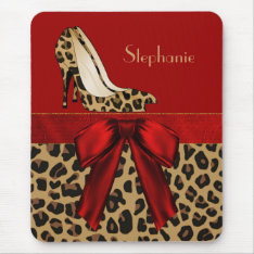 Jaguar Stilettos Custom Mouse Pad at Zazzle