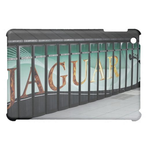 Jaguar Supercomputing iPad Case