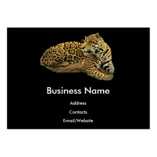 Jaguar Plantilla De Tarjeta De Negocio