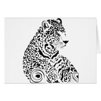 Jaguar Tarjeta De Felicitación