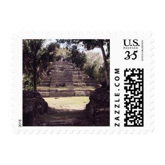 Jaguar Temple, Belize Stamp