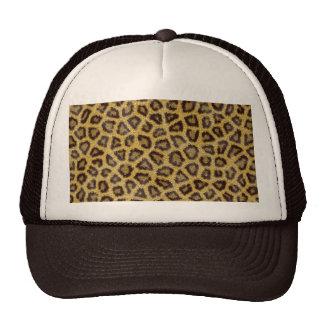 Jaguar texture trucker hat