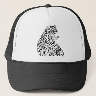 jaguar hats caps zazzle 1950'S Plymouth Coupe jaguar trucker hat