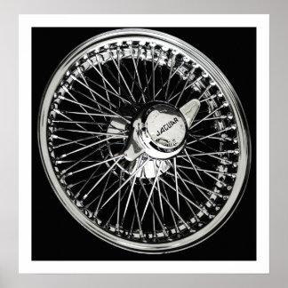 Jaguar Wheel Poster