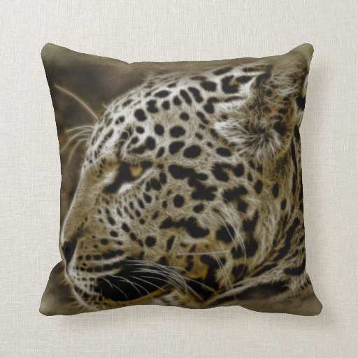 Jaguar Wild Animal Decorative Throw Pillow Zazzle
