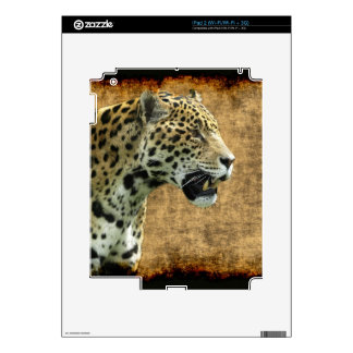 Jaguar Wild Cat Animal-Lover Electronics Skins Decals For The iPad 2