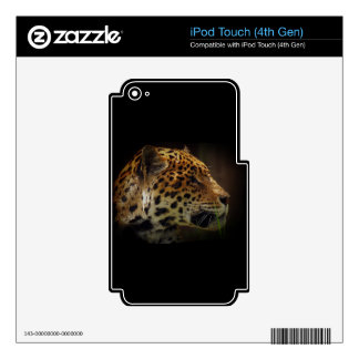 Jaguar Wild Cat Animal-Lover Electronics Skins iPod Touch 4G Decal
