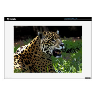 "Jaguar Wild Cat Animal-Lover Electronics Skins Skin For 15"" Laptop"