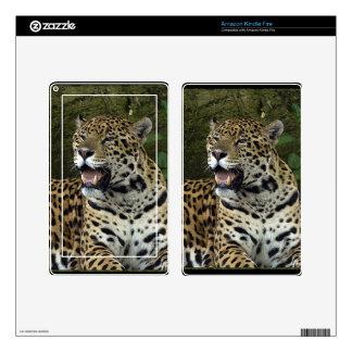 Jaguar Wild Cat Animal-Lover Electronics Skins Skin For Kindle Fire