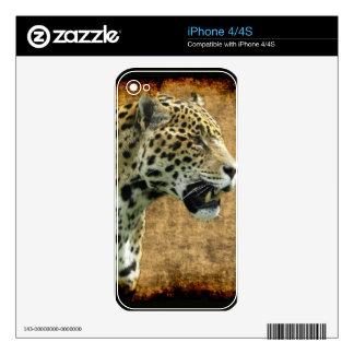 Jaguar Wild Cat Animal-Lover Electronics Skins Skins For iPhone 4S