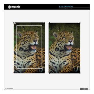 Jaguar Wild Cat Animal-Lover Electronics Skins Skins For Kindle Fire