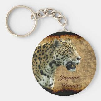 Jaguar Wild Cat Animal-Lover Keychain
