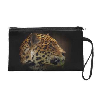 Jaguar Wild Cat Animal-Lover Wrist Purse Wristlets