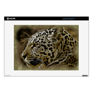 "Jaguar Wild Cat Spots African Safari Destiny Skins For 15"" Laptops"
