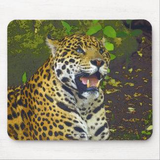 Jaguar, Wild Cat, Wildlife Artwork Mousepad