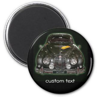 Jaguar  with custom text refrigerator magnet
