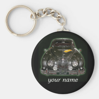 Jaguar  with your name key chain