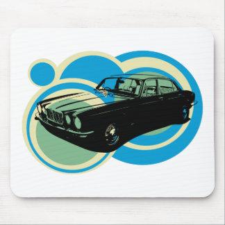 Jaguar XJ6 classic british car Mousemats