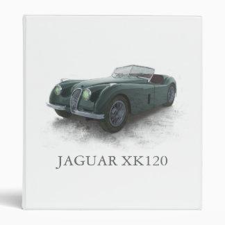 JAGUAR XK120 BINDER