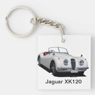 Jaguar XK120 Keychain