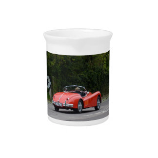 Jaguar XK140 Beverage Pitcher