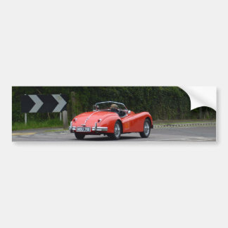 Jaguar XK140 Bumper Sticker