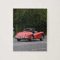 Jaguar XK140 Jigsaw Puzzle