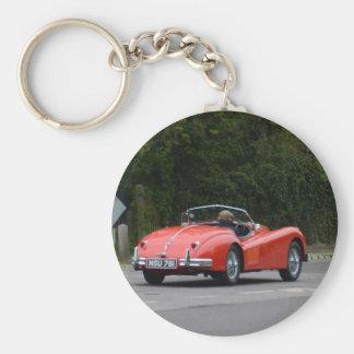 Jaguar XK140 Key Chain
