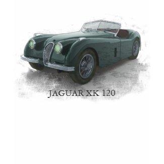 Jaguar Xk120 t shirt
