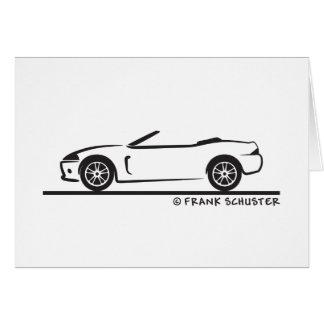 Jaguar XK Roadster Card