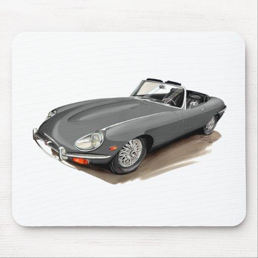 Jaguar XKE Grey Car Mouse Pad