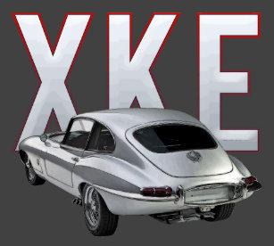 Jaguar XKE Rear View T-Shirt