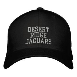 Jaguares de Ridge del desierto Gorra De Beisbol Bordada