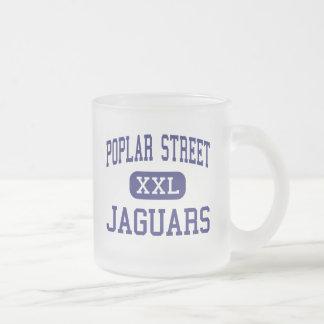 Jaguares Little Rock del norte de la calle del ála Taza Cristal Mate