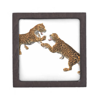 Jaguar's Challenge Keepsake Box