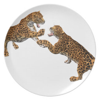 Jaguar's Challenge Melamine Plate