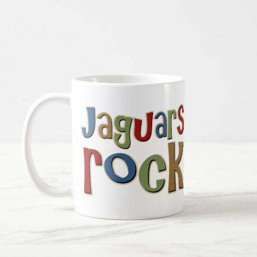 Jaguars Rock Coffee Mug